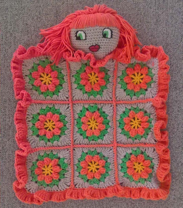 Look over me, red-head, primavera, lovey blanket! #crochet #lovey #blanket #baby #primavera