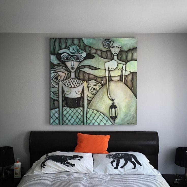 Painting created by Sandra Mucciardi... www.sandramucciardi.com