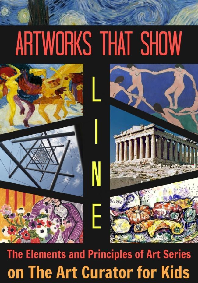 Elements Of Art For Kids : Best elements of art line ideas on pinterest