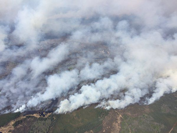 @RachelNotley  May 4 The view from the air is heartbreaking. Thanks to everyone working hard to get this fire under control. #ymmfire