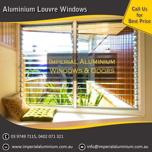 Imperial Aluminium Louvre Window