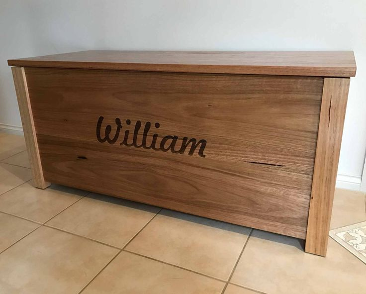 Custom engraved timber panel made into toy box by client Any craft items engraved to your & 393 best Wood engraved or printed images on Pinterest | Printed ... Aboutintivar.Com