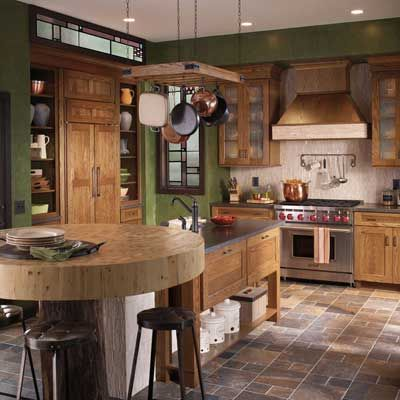Style 650 In Oak Tawny Waypoint Living Space Cabinets Available At Winslow Kitchen Studio 34