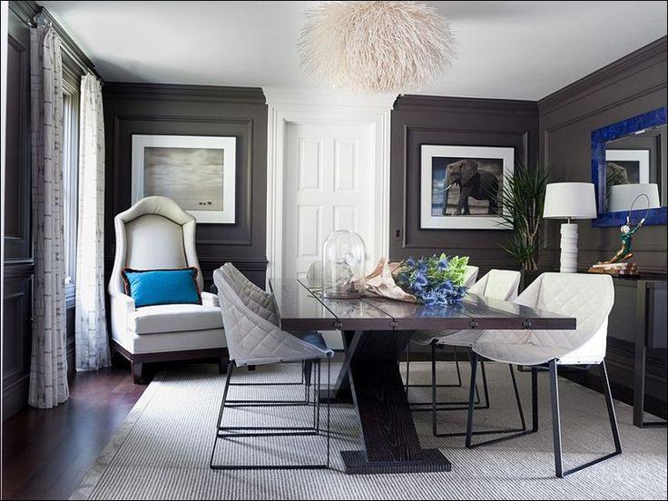 Современные столовые с серым цветом_01