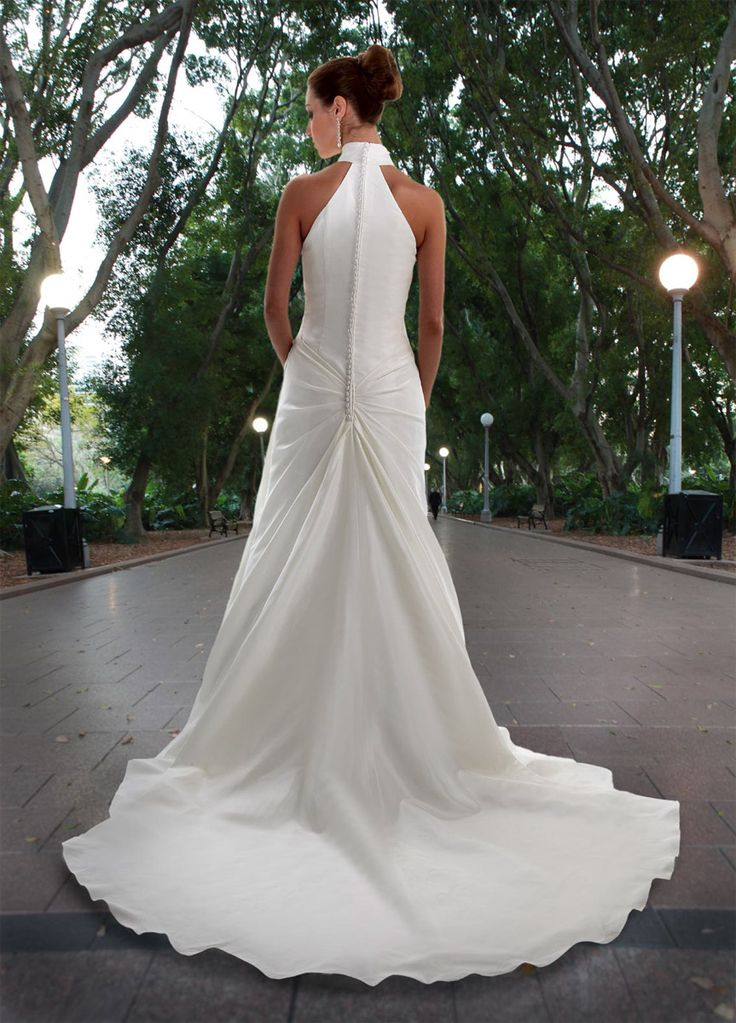 Style 8417 » Wedding Gowns » DaVinci Bridal » Available Colours : Ivory, White (back)