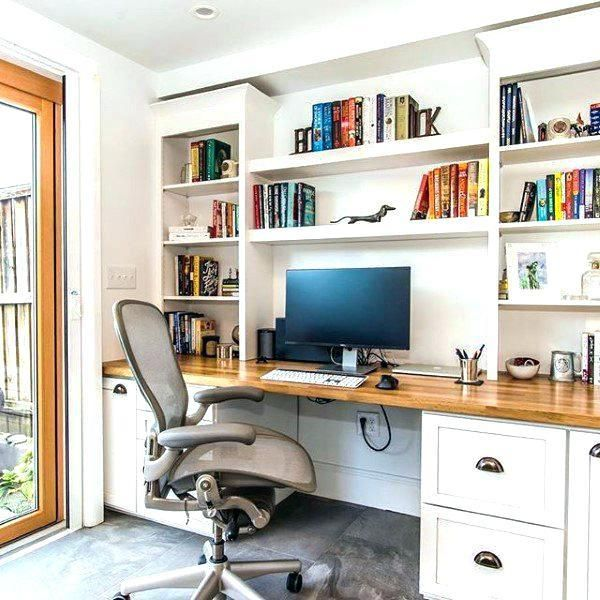 Custom Built Office Desk Solid Wood Built In Office Desk Plans Built In Office Desk Built In Bookshelv