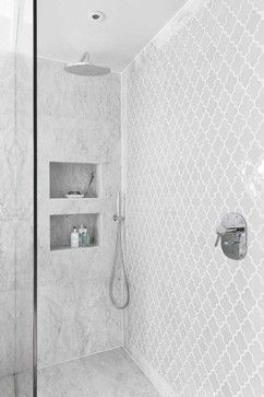 Notting Hill, mid-century refurbisgment - contemporary - Bathroom - London - Amory Brown
