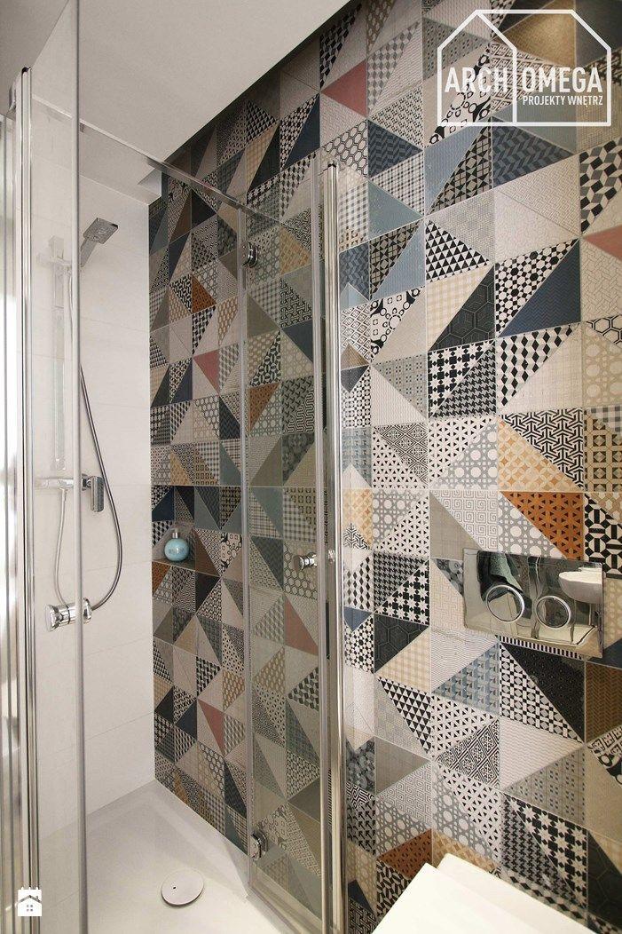 minimalistyczna mała łazienka - zdjęcie od Archomega Biuro Architektoniczne - Łazienka - Styl Minimalistyczny - Archomega Biuro Architektoniczne