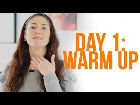 Expand Your Vocal Range: 28-Day Challenge - DAY 1 (Warm Up)