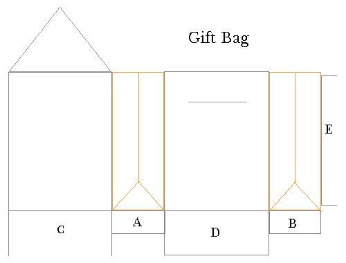 gift bag template gifts pinterest. Black Bedroom Furniture Sets. Home Design Ideas