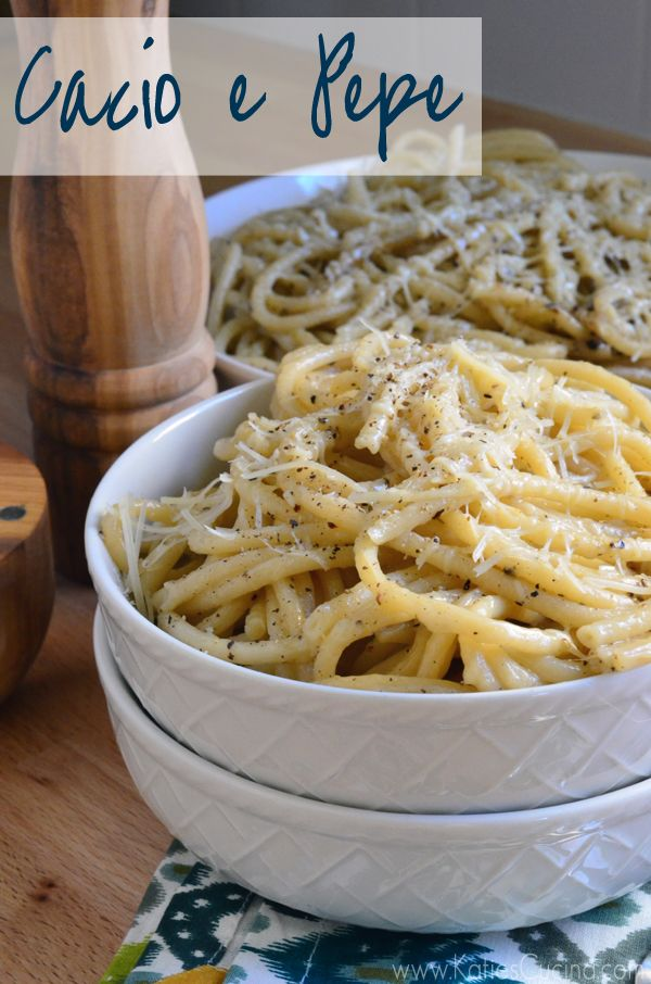 Cacio e Pepe quick and easy one-pot meal made in less than 20 minutes!