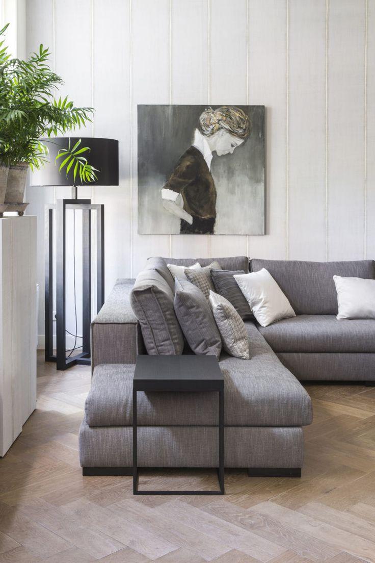 Visgraat eiken vloer; maat 12 x 60 cm - www.fairwood.nl