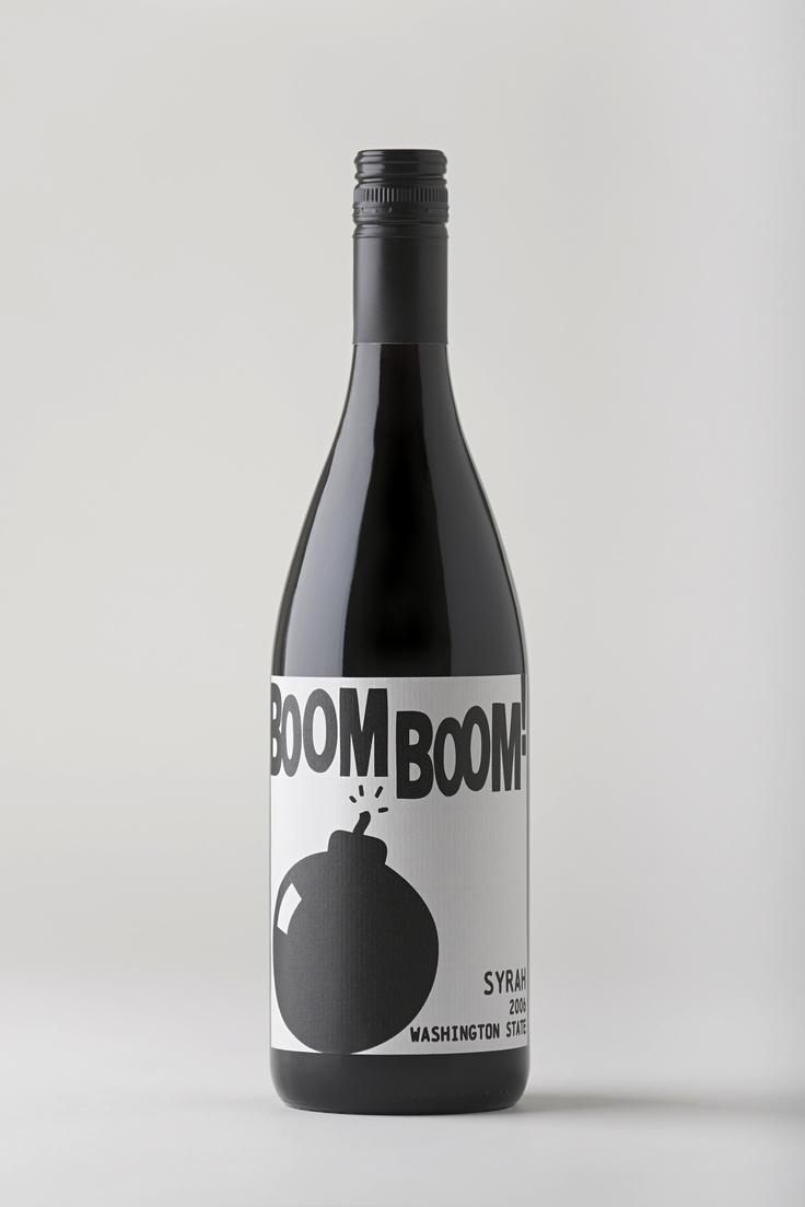 Boom Boom! Syrah, Washington State wine.