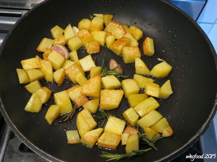WesFood: Rosmarinkartoffeln aus der Pfanne