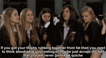 Also, they better be quiche. | 23 Steps For Succeeding In Life, As Told By Ja'mie King