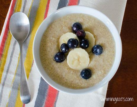 Coconut Quinoa Pudding | Slimming Eats - Slimming World Recipes