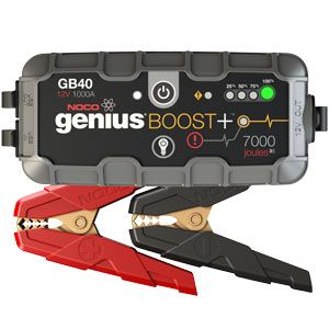 Check out the deal on NOCO Genius Boost+ 1000A Lithium Jump Starter for Cars, Trucks, SUVs, Motorcycles, ATVs, UTVs at BatteryMart.com
