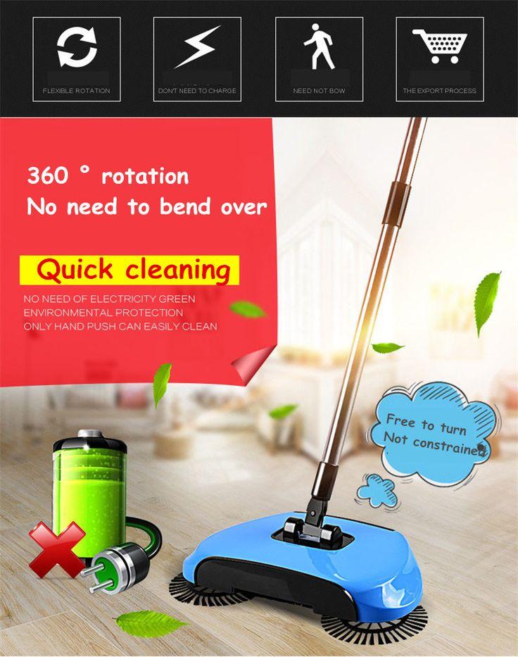 360 Rotary Floor Dust Sweeper  You can buy it here ➡https://goo.gl/pwRgjA