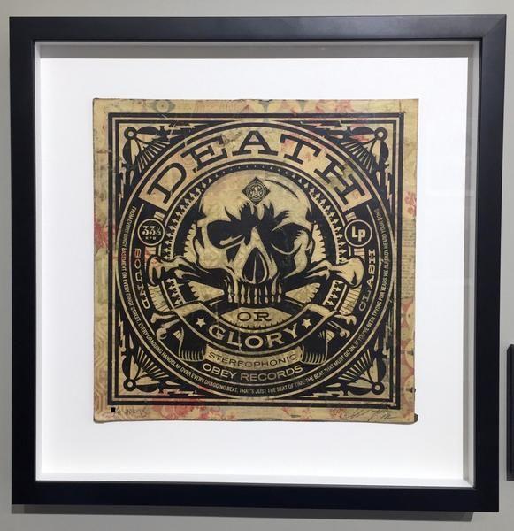 Shepard Fairey: Death or Glory Album Cover HPM