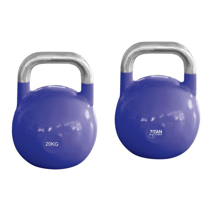 Les mer om titan Competition Kettlebell 20 kg. Trygg handel med Prisløfte og 100 Dagers Åpent Kjøp