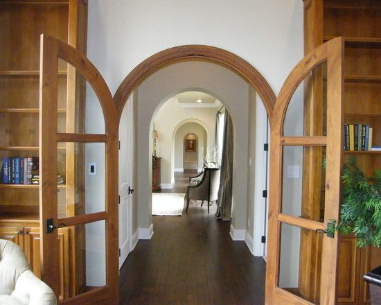 Adorn Your Rooms With Arched French Doors Interior: Extraordinary Arched  Interior Glass French Doors With