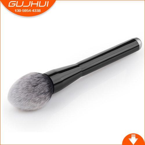 1pcs Makeup Brush Aluminium Tube Black-tipped Flame Head Blush Brush Tools Best Quality Make Up Contour Cosmetics Brushes smrp #Affiliate