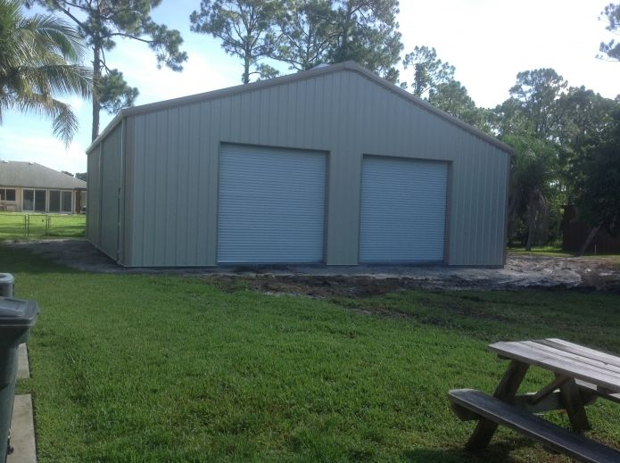 1000 images about pre engineered metal buildings on for 3 car garage metal building