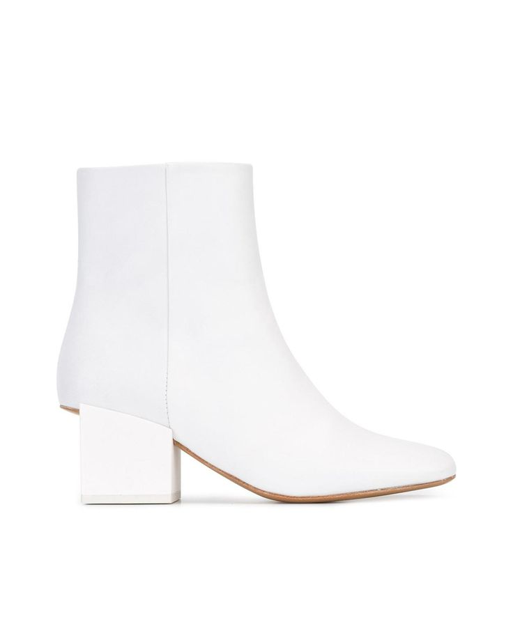 Jacquemus Geometric Heel Ankle Boot, $511, available at Farfetch.com.