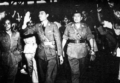 "General Sudirman - On 12 November 1945 he was elected Commander-in-chief of the Army, a position he held until his death. During much of the next five years he was sick with tuberculosis, but led several guerrilla actions against the Dutch. He led the resistance to the Dutch attack on Yogyakarta, then the Republic of Indonesia's headquarters, in December 1948. Theodore Friend (2003) describes him as having ""...a strangely blended samurai discipline, Marxist disposition, and raw courage."""