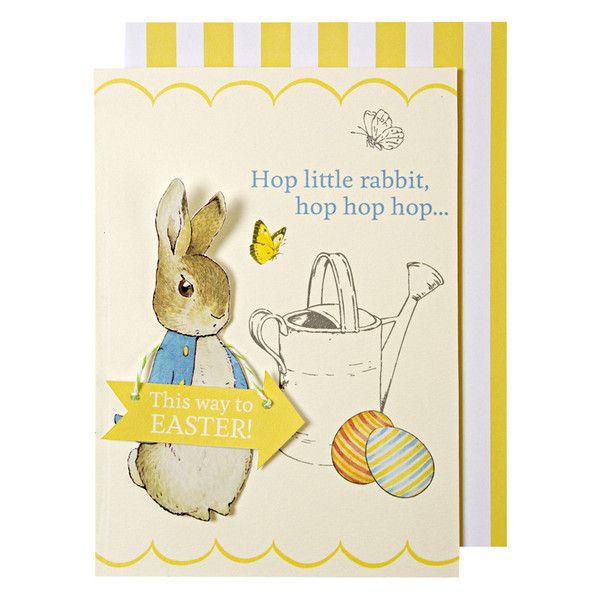 Meri Meri Peter Rabbit Easter Card -  Party Supplies - Putti Fine Furnishings Toronto Canada