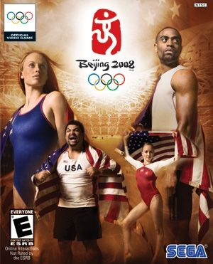 USA Gymnastics | Liukin named cover athlete for SEGA's Beijing 2008 Olympic video game
