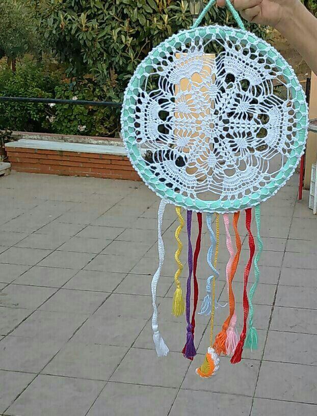 Mandala de crochet