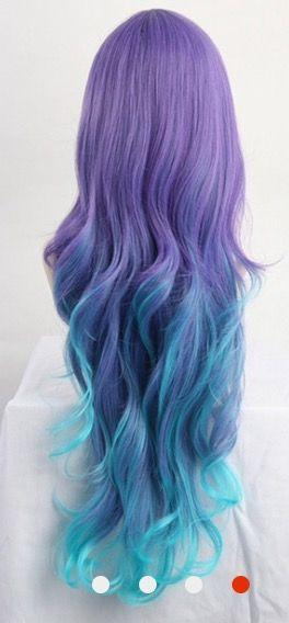 I love this... Purple and sky blue
