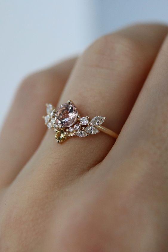 THE BEST DIAMOND RING DESIGN IS FULL OF WEALTH