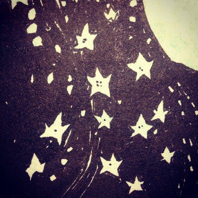 Så blev dagen natt  #illustration #ink #blackandwhite #sketch #sketches #details #idasondell #Bläcksvettochtårar #star #flowers