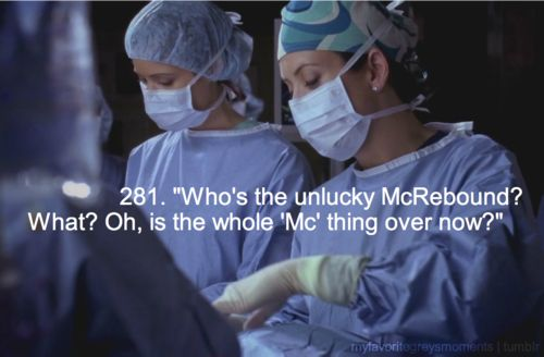 Rose and Derek Grey's Anatomy | ... Nurse Rose #McRebound #Piece of My Heart (4x13) #Grey's Anatomy