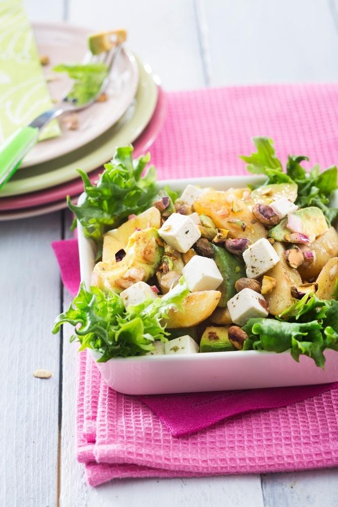 Peruna-fetajuustosalaatti | K-ruoka