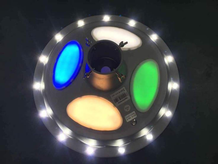 UFO Shape Integrated Solar Street Light, Garden Lantern