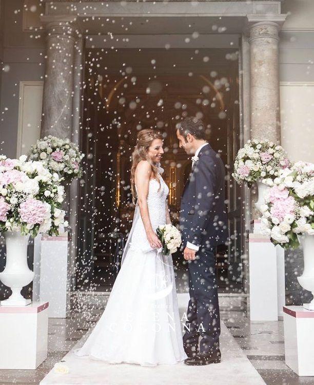 Abiti sposa Napoli. Il sogno di Paola magnifica sposa in abito nuziale di L'Atelier Elena Colonna per un matrimonio in stile anni '20. | Elena Colonna Atelier