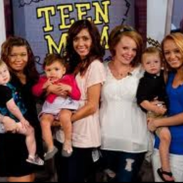 My favorite teen moms:)