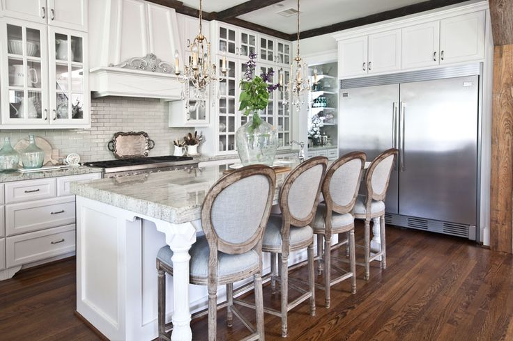 WHAT KIND OF COUNTER TOP DID YOU USE IN YOUR CITY KITCHEN?  Material – granite  Color – white river