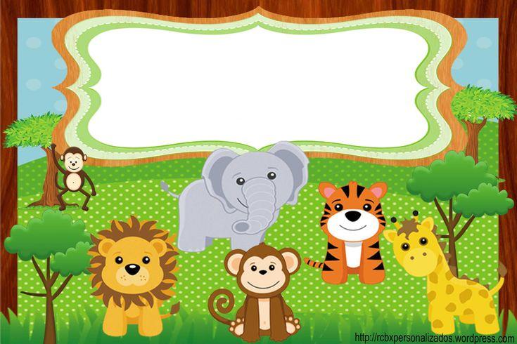 Resultado de imagem para convite safari