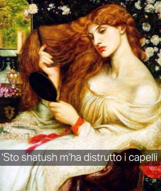 Se i quadri potessero parlare Lady Lilith - Dante Gabriel Rossetti