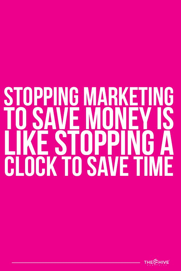Marketing is an investment that will give you a return when you develop it correctly.