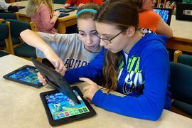 Schoolhouse tech: Even bigger for Gen Z than for millennials     - CNET Devices like tablets are becoming common sights in classrooms. Photo by                                            B.Fanton UIG via Getty Images                                          Pens and notebooks you may be on the way out as the main tools of classroom learning. At least according to one study technology is catching on in a big way.  New survey data out Thursday from online-learning site Quizlet shows that…