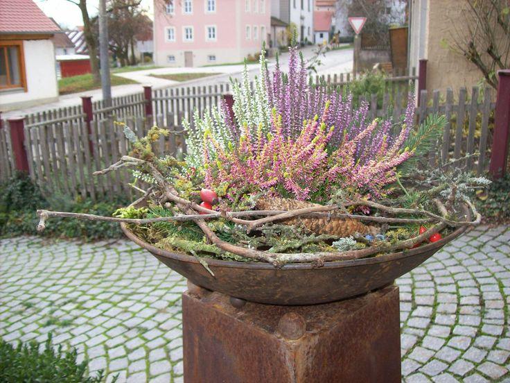 Image result for Herbstdeko entrance area #herbstdekoeingangsbereich Bilderge …  – Herbst Deko