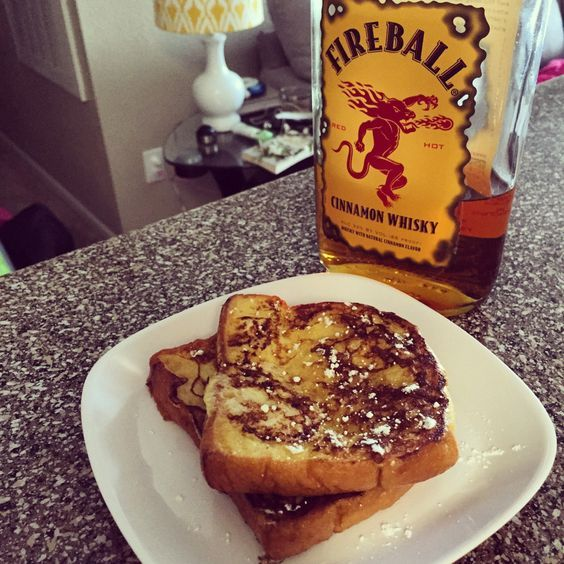 The Best Part of Waking Up is Fireball in Your French Toast- Fireball French Toast