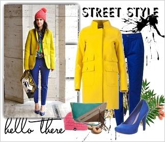 Zestaw ubrań Street style Street Style Fashion