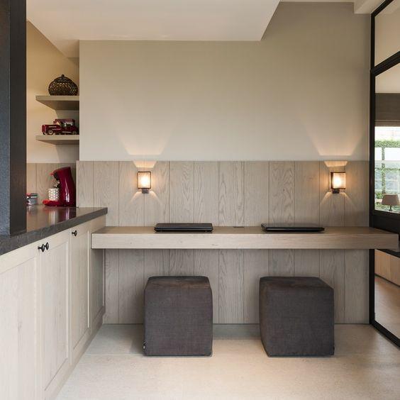 Strak landelijke keuken en badkamer - Portfolio - Expro - Interieurarchitect Josfien Maes:
