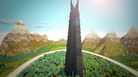 Minecraft - I've just been informed of this Minecraft Middle Earth server project is underway and, though it's not yet done, it's already absolutely awesome.